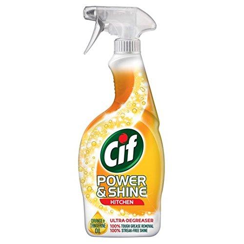 Cif Power & Brillance de cuisine en spray 700 ml