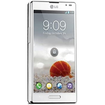 LG P760 Optimus L9 Smartphone (Dual Core, 1GHz, 11,9 cm (4,7 Zoll) Touchscreen, 5 Megapixel Kamera, 1GB RAM, Android 4.0) weiß