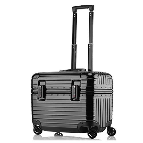 "Rayem Elegante bagaglio, mini caster boarding chassis, trolley rigido ultra leggero per trolley, 17"", 43 * 21 * 34CM"