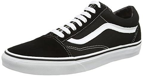 Vans U Old Skool Vd3Hy28 - Baskets Mode Mixte Adulte - Noir (Black) - 38 EU