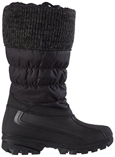Chuva9143 GEV. DAMESLAARS - Scarponi da neve imbottiti, a mezza gamba Donna Nero (Zwart 00)