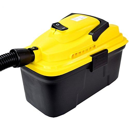 Syntrox Germany 10 Liter Staubsauger Industriesauger Nass und Trockensauger mit Ablassventil