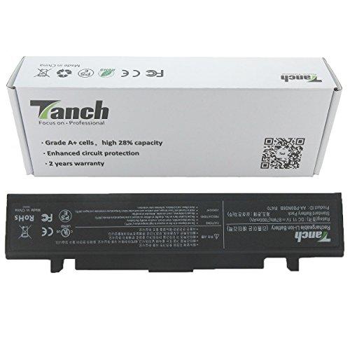 Tanch® Batterie pour ordinateur portable AA-PB9NC6B AA-PB9NS6B pour Samsung NP350 NP355 Series 11.1V 7800mAh