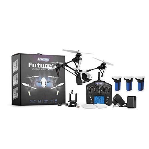 Gwendoll Wltoys Q333 Drone Deformación en Tres etapas Antena Cuatro Ejes Aeronave Transmisión de Imagen en Tiempo Real Drone FPV RC Helicóptero
