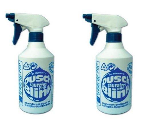 Spar-Set DUSCH-BLINK Duschwandreiniger 2 St.Sprühflaschen Dr. Humm's Aquatic -