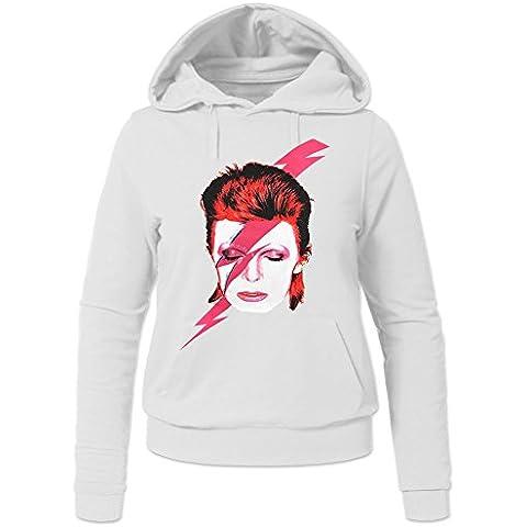 David Bowie Aladdin Sane Hoodies -  Felpa con cappuccio