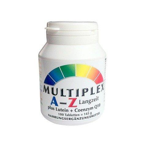 Vita World Multivitaminico A-Z a Lungo Termine 100 Compresse Vitamine e Minerali Made in Germany