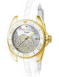 Invicta 0488 - Reloj para mujer color perla / blanco