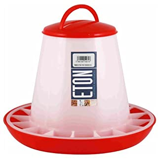 Eton Poultry Plastic Feeder with Handle, 3 Kg 7