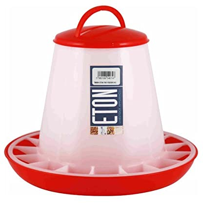 Eton Poultry Plastic Feeder with Handle, 3 Kg 1