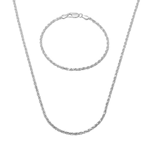 22mm-925-sterling-silver-diamond-cut-rope-30-chain-8-bracelet-set