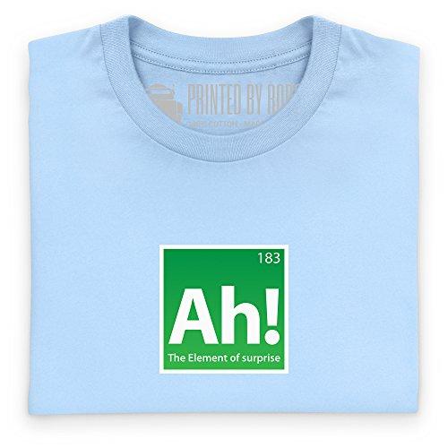 The Element of Surprise T-shirt, Uomo Celeste