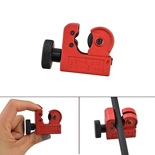 Carbon Cutter (ZSHJG Mini Rohrschneider Pfeil Trimmer Cutter 3-16 mm Rohrabschneider Rohr Schneidwerkzeuge Perfekt für Carbon und Glasfaser)