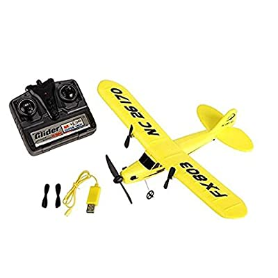 Mini RC UFO Quadcopter Nano Drone With FX803 Super Glider Airplane 2CH Remote Control Airplane Toys Ready To Fly As Gifts For Childred FSWB.ZHA-GOO from ZHAGOO