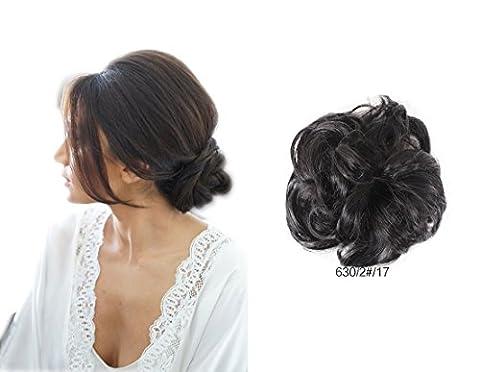 ShowPower Damen synthetische wellig lockig chaotisch Dish Haar-Bun Extension Haarteil