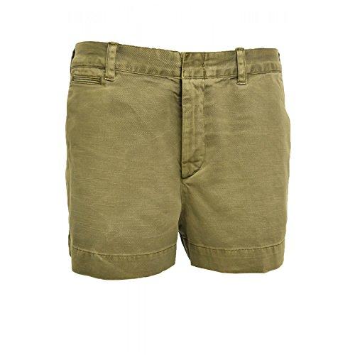 Ralph Lauren–Shorts Chino Ralph Lauren Tyler Grün Khaki für Damen Gr. 40, Grün - Grün