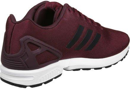 adidas Zx Flux, Scarpe Running Unisex – Adulto rosso vinaccia nero