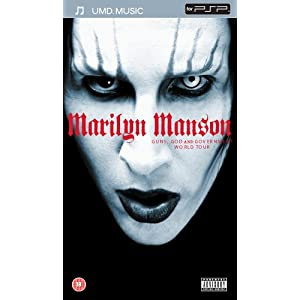 Marilyn Manson – Guns, God and Government World [UMD Universal Media Disc]