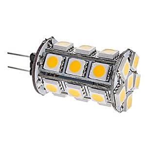 G4 3W 260-290LM 24x5050SMD 3000-3500K Blanc chaud Ampoule de maïs LED Light (12V)