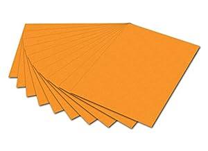 Folia 6117-Cartón fotográfico, 50x 70cm, 10Hojas, Color Ocre