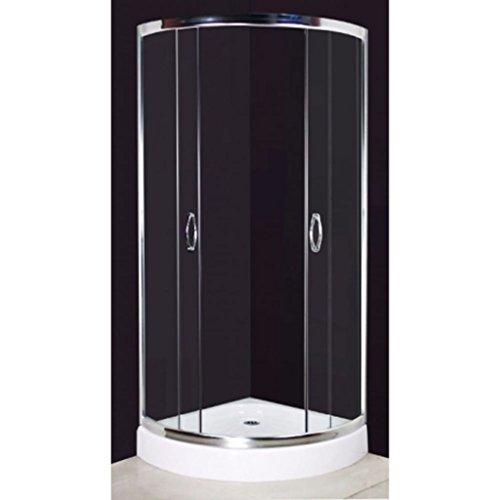 duschwand halbrund Tür Dusche halbrund 80x 80cm