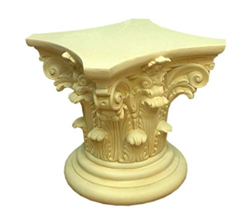 KARO DESIGN Cuadros Diseño Columna Antiguo Socket de Flores Columna Decorativa (Flores...
