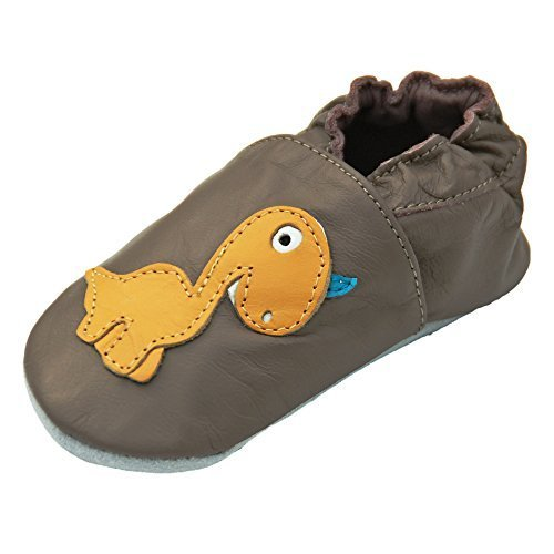 a11a5ca3f9b Leather Slippers slippers nursery Shoes Crawling Shoes Baby Leather Shoes  with Rubber Sole gr.19