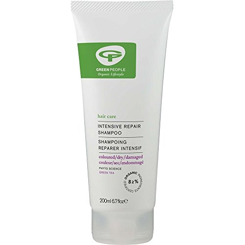 Green People Intensive Repair Shampoo 200ml (Pack of 2)
