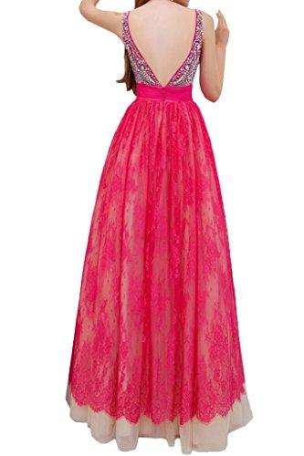 Missdressy - Robe - Trapèze - Femme rose bonbon