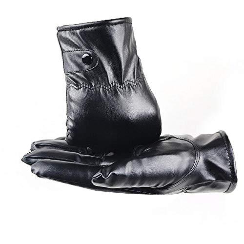 ederhandschuhe Winter Handschuhe Touchscreen Handschuhe Faux Leder Touch Screen Gefüttert aus Kaschmir Casual Outdoor Sports Handschuhe Karneval Fasching Fasnacht ()