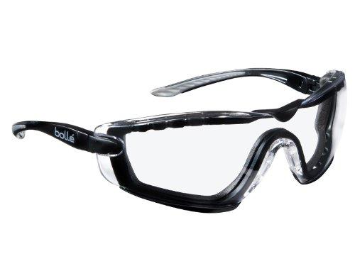 Preisvergleich Produktbild Bollé Schutzbrille - COBRA -, mit Schaumstoff & Bügeln, anti-kratz und anti-beschlag (COBFTPSI)