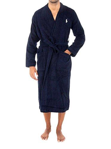 POLO RALPH LAUREN Kimono Robe S/3XL, Azul (Cruise Navy A4100), XX-Large...