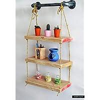Vorhut 'Clifton Bijou' - Suspended Scaffold Board Shelves (Vorhut 'Clifton Bijou' - Estantes suspendidos del tablero del andamio)