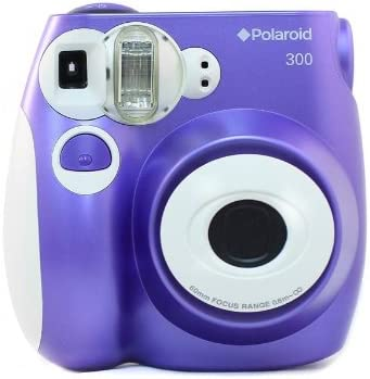 Polaroid PIC-300 - Cámara de película instantánea (1/60 s, flash), color púrpura