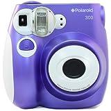 Polaroid PIC-300 - Cámara de película instantánea, color púrpura