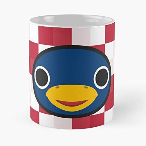 Roald Penguin Animal Crossing New Leaf Acnl Happy Home Designer Forest - Best 11 oz Kaffee-Becher - Tasse Kaffee Motive