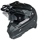 Cross helmet Enduro helmet Motorcycle helmet with integrated sun visor and visor THH-TX28-XXL
