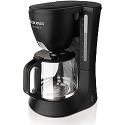 Taurus Cafetera Goteo Verona 12, 680 W, Cups, plástico, Negro