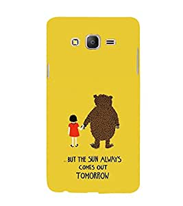 EPICCASE Bear with me case Mobile Back Case Cover For Samsung Galaxy On5 (Designer Case)