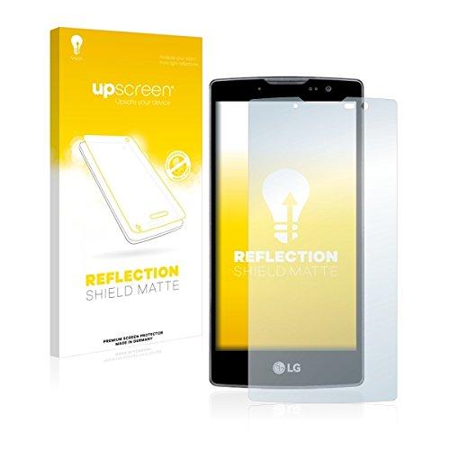 upscreen Reflection Shield Matte Bildschirmschutz Schutzfolie für LG Spirit Y70 (matt - entspiegelt, hoher Kratzschutz)