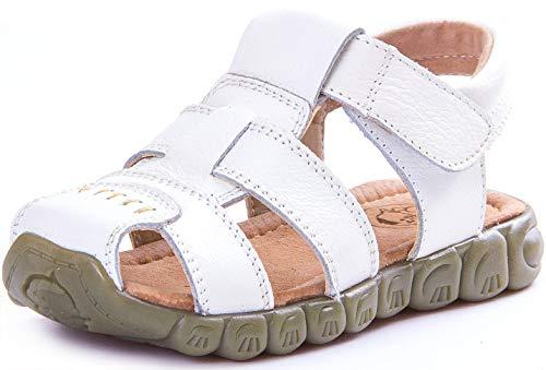 Saldgoiz Niña Niño Zapatos Sandalias Vestir Cuero