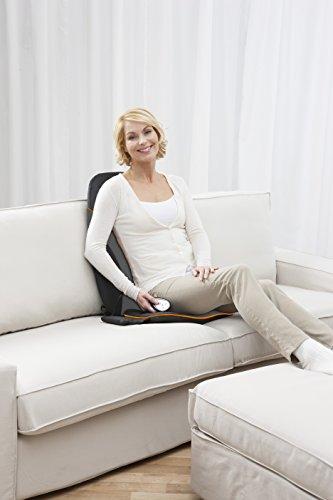 Medisana MC 830Shiatsu-Massagesitzauflage mit Gelköpfen mit 3 Massagezonen und Intensitätsstufen