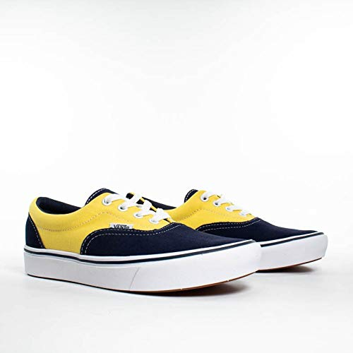 Vans ComfyCush Era Schuhe (Suede/Canvas) Dress Blue (Vans Blue Suede)