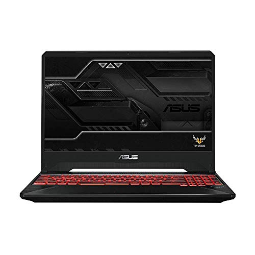 ASUS TUF Gaming FX505DY ( 90NR01A2-M01050 ) 39, 6 cm (15, 6 Zoll, FHD, WV, Matt) Gaming-Notebook (Intel Core i7-9750H, 32GB RAM, 512GB SSD+1 TB HDD, NVIDIA RTX2080 (8GB), Windows 10) Black