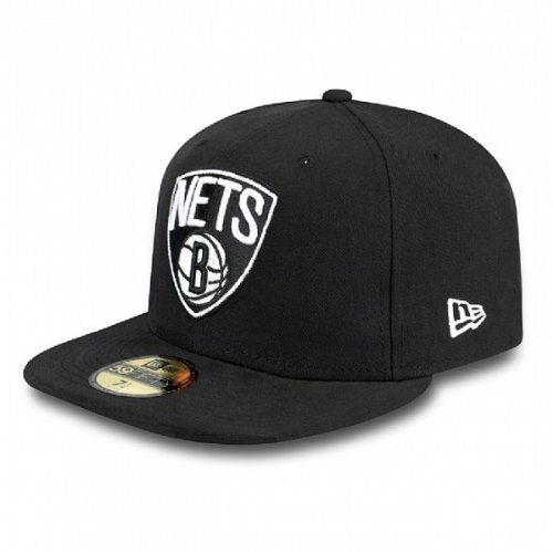 d Cap Patched Team Brooklyn Nets 59Fifty schwarz schwarz 7 1/4 - 57,7cm ()