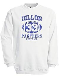 CHILLTEE Dillon Panthers 33 Friday Nights American Footbal Logo Series Tim Riggins Sudadera Unisex