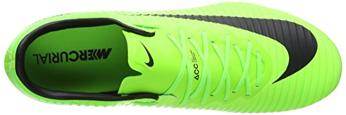 Nike Mercurial Vapor Xi Fg, Chaussures de Football Homme Vert (Electric Green/black/flash Lime/white)