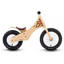 Early Rider Classic 12/ 14 - Bicicleta sín pedales en madera natural, desde 2 hasta 5 años, color madera natural