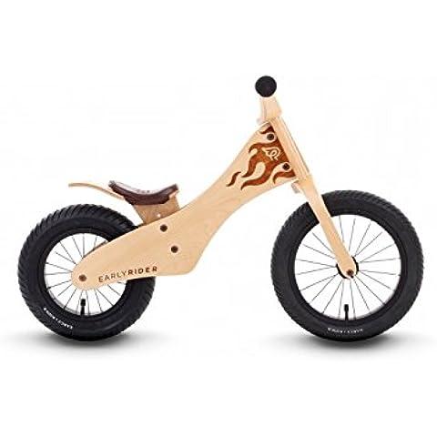 Early Rider Classic 12/ 14 -  Bicicleta sín pedales en madera natural, desde 2 hasta 5 años, color madera