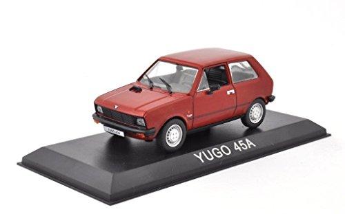 DieCast Metall Modellauto 1:43 Ex Jugoslawien YUGO 45A rot